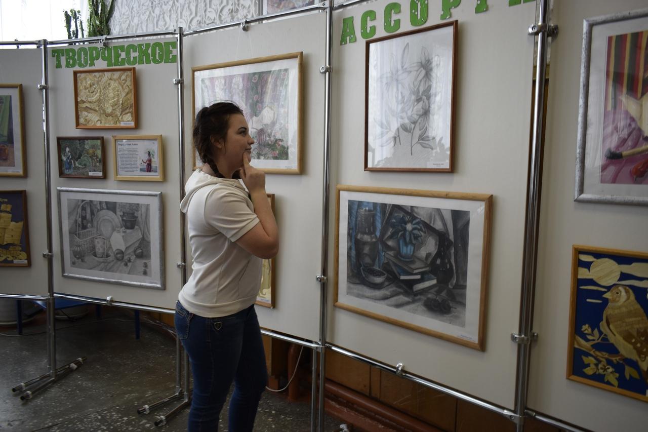 Выставка «Творческое ассорти»