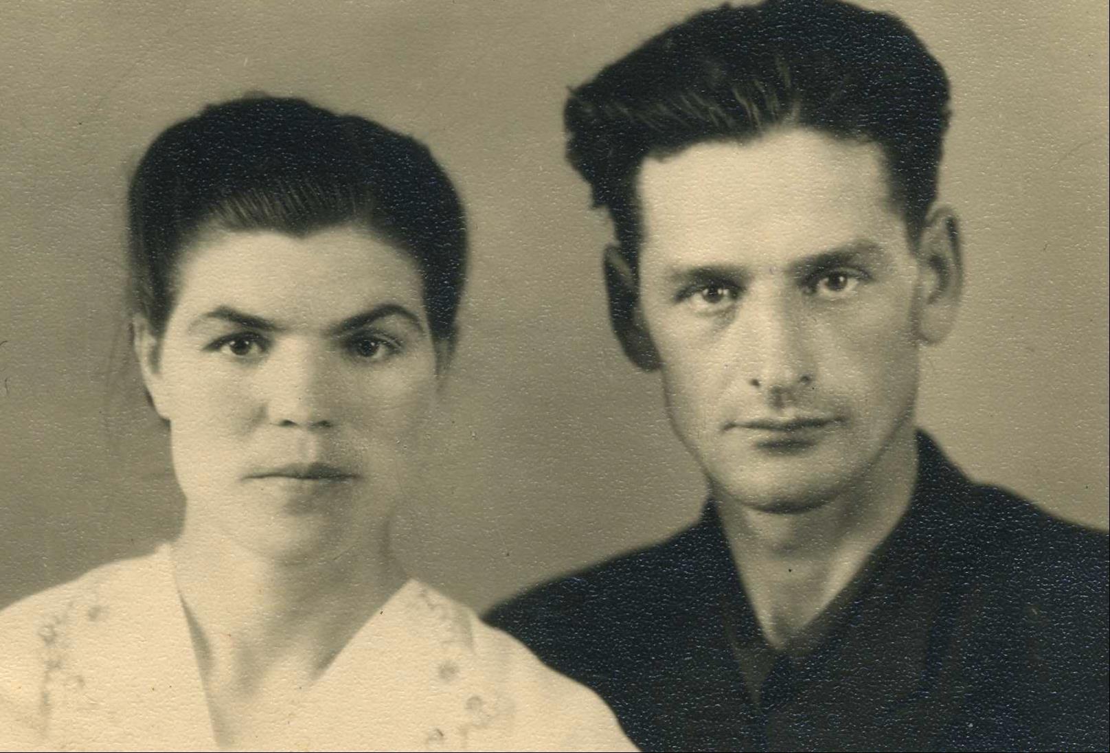 Рискин Георгий Николаевич с женой